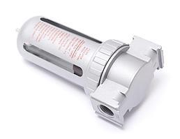"""AF802 Partner Фильтр для пневмосистем 1/4""""(10 bar, температура воздуха: 5°-60°С, 10мк) Partner AF802"""