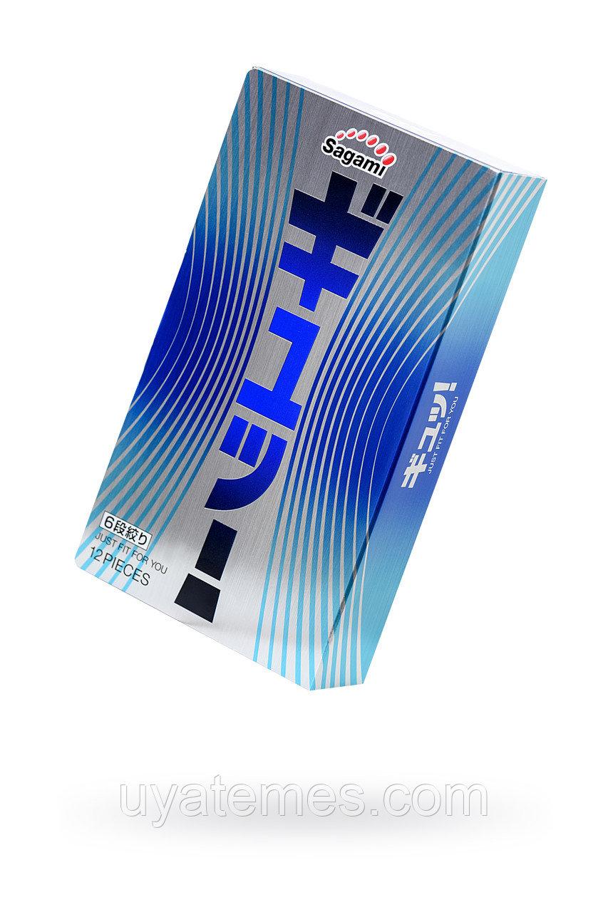 Презервативы латексные Sagami 6 FIT V №12