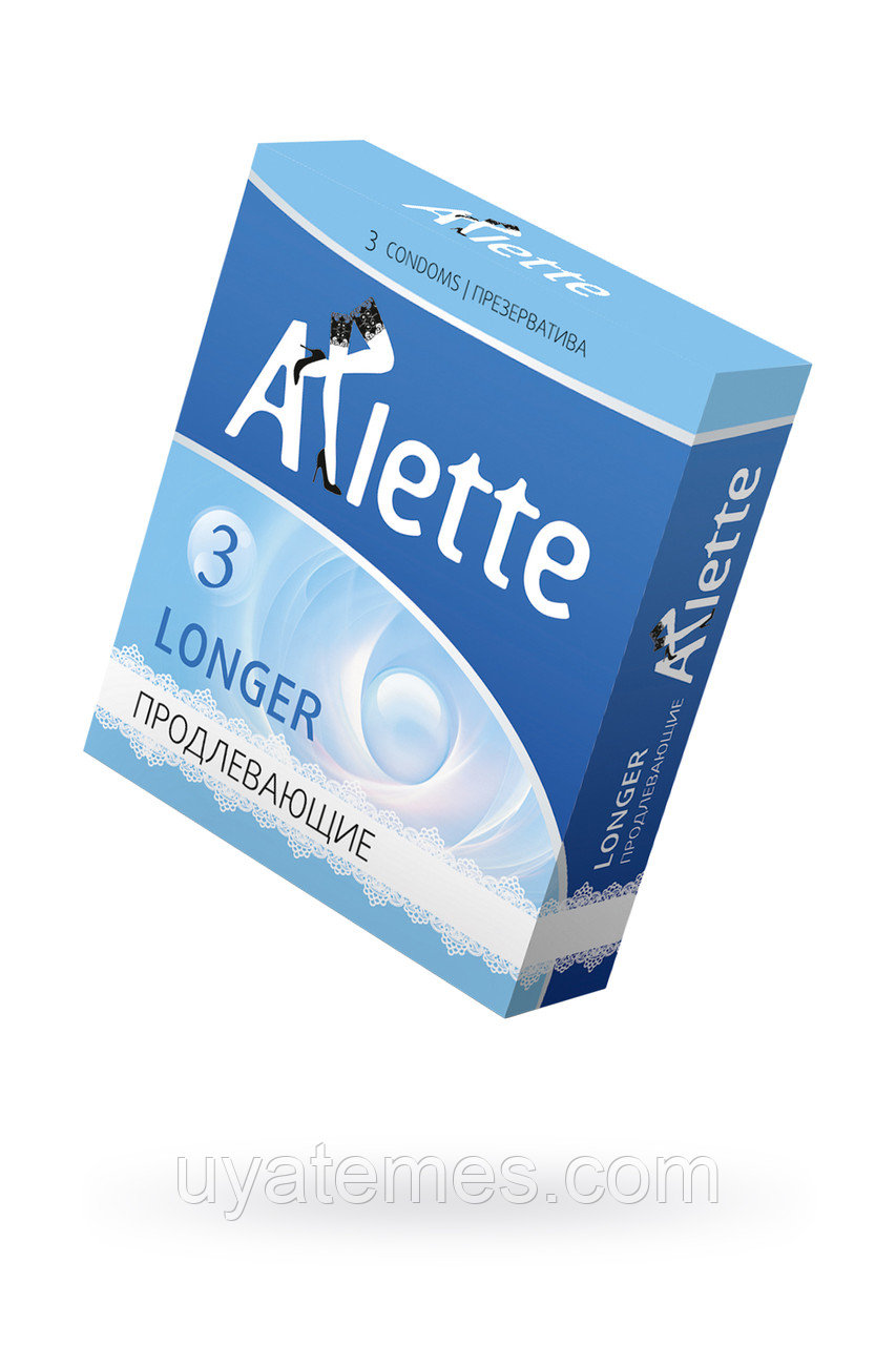 Презервативы ''Arlette'' №3, Longer Продлевающие  3 шт.