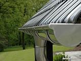 Труба  водосточная.  AQUASYSTEM покрытие PURAL MATT коричневый RAL 8017         тел./watsapp +7 701 100 08 59, фото 5