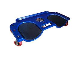 ROCKFORCE Тележка-подколленник подкатной на 5-ти колесах (максимальная нагрузка-120кг) ROCKFORCE RF-9U0314