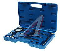 ROCKFORCE Набор для измерения давления топлива (0-7bar) 8 предметов в кейсе. ROCKFORCE RF-946G08