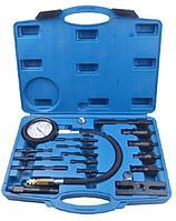 ROCKFORCE Тестер компрессии дизельного двигателя (имитатор свечи: М10х1.0х91мм, М10х1.0х119мм, М10х1.25х135мм,