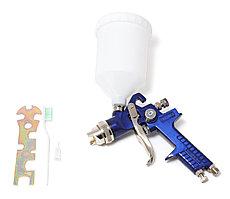 """H-827-4V Partner Краскораспылитель с верхним пластиковым бачком (бачок 600мл, сопло 2.0мм, 3.5bar, 70-100 л/мин, присоед. резьба 1/4"""") Partner"""