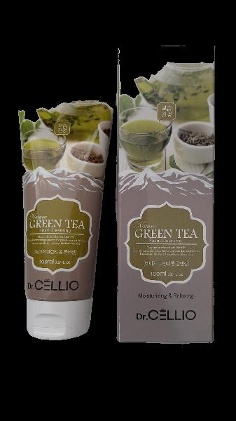 Dr.Cellio Nature Green Tea Foam Cleansing Пенка для Умывания на основе Зеленого Чая 100мл.