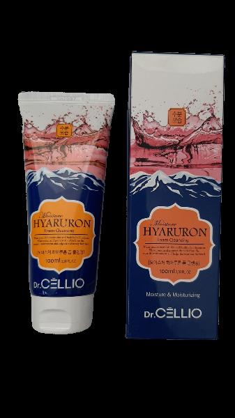 Dr.Cellio Moisture Hyaluron Foam Cleansing Пенка для Умывания с Гиалуроновой Кислотой 100мл.