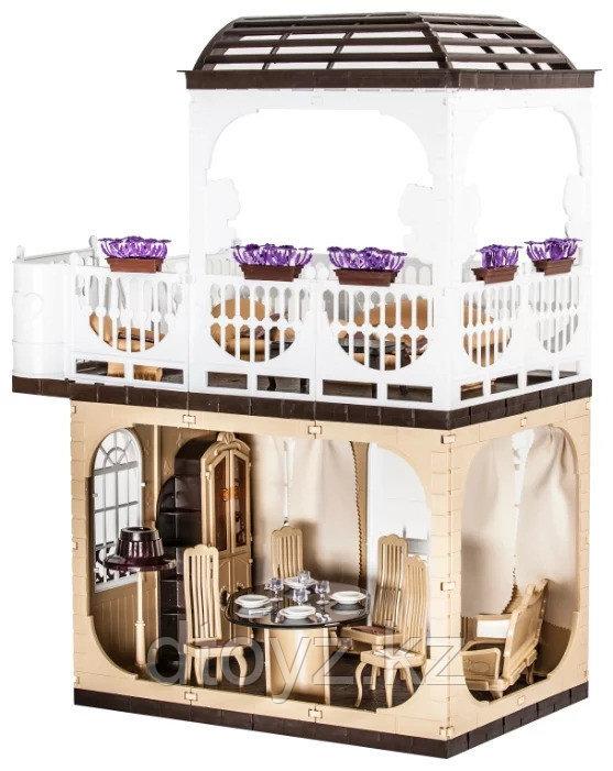 Кукольный домик Огонек Дом для кукол Коллекция С-1293