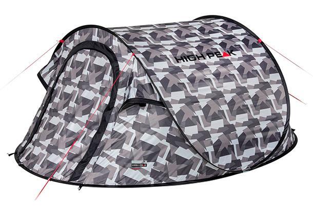 Палатка HIGH PEAK Мод. VISION  2 (серый камуфляж)
