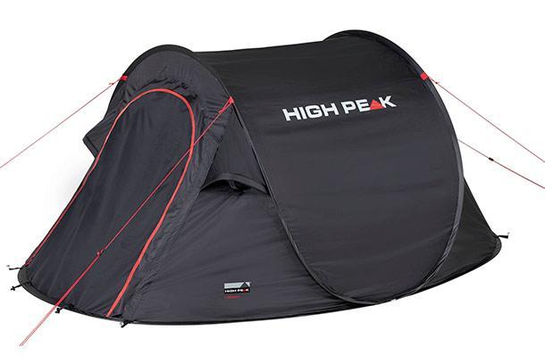 Палатка HIGH PEAK Мод. VISION 3 черная
