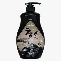 Poshone Средство для мытья посуды с древесным углем Charcoal Purity Dishwashing Liquid / 750 мл.