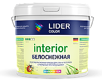 "Водоэмульсия ""LIDER color 101"" 25кг протирающаяся"