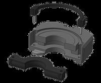 Уплотнение плашечного  превентора  ППС 152х21, фото 1