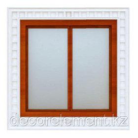 Обрамление окон на фасаде ОК-6
