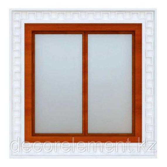 Обрамление окон на фасаде дома из пенополистирола ОК-8
