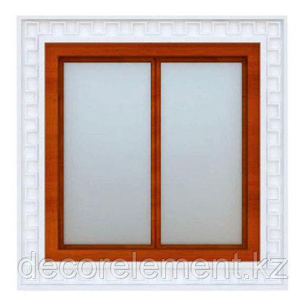 Обрамление окон на фасаде дома из пенополистирола ОК-8, фото 2