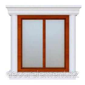 Обрамление окон на фасаде дома ОК-17