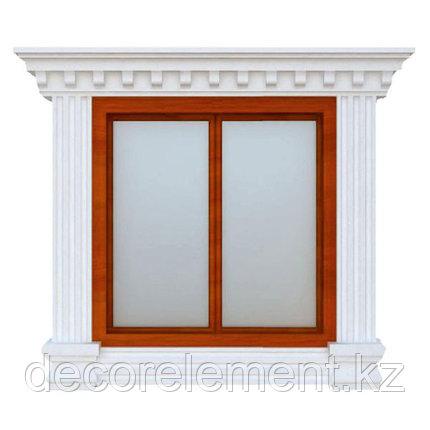 Обрамления окон на фасаде из пенопласта ОК-20, фото 2