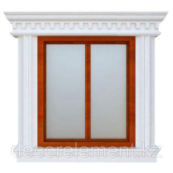 Фасадное обрамление окна ОК-21