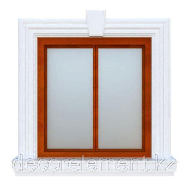 Фасадное обрамление окна ОК-28