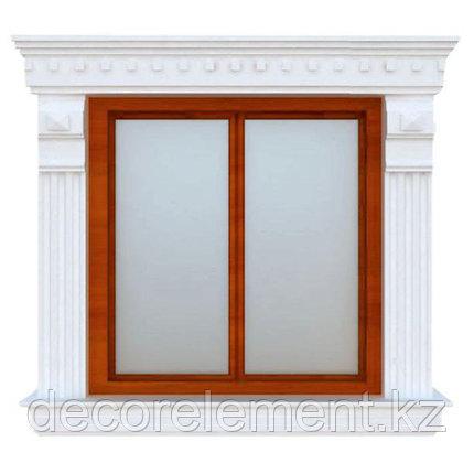 Обрамления окон на фасаде из пенопласта ОК-38, фото 2