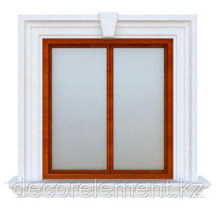 Обрамление окон на фасаде дома из пенополистирола ОК-40, фото 2