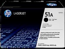 HP Q7551A  Картридж лазерный черный HP 51A для LaserJet P3005,M3027, M3027x,M3035