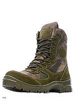 """Демисезонные ботинки """"Рысь"""" из нейлоновой ткани расцветки «A-TACS»"""
