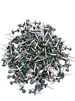 Саморез кровельный 4,8x30 мм (металл-дерево) крашенный  RAL 6005 (зеленый)