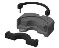 Уплотнение плашечного  превентора  ППГ 230х35/70, фото 1