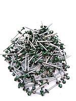 Саморез кровельный 4,8x60 мм (металл-дерево) крашенный  RAL 6005 (зеленый)