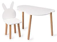 Стул детский Krolik Chair Белый (Happy Baby, Великобритания)