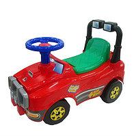 Автомобиль Джип-каталка - №2 (без звукового сигнала), MOLTO