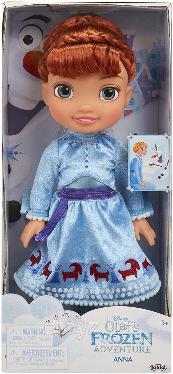 Кукла Disney Анна, холодное приключение 38см Jakks Pacific