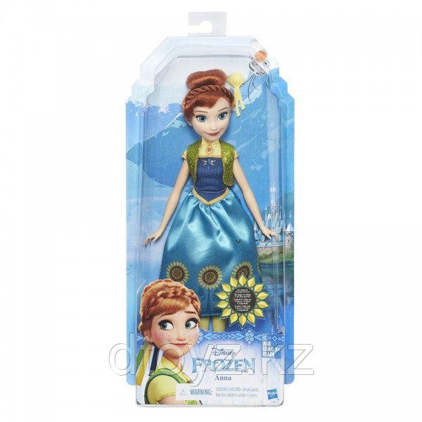 Hasbro Disney Frozen Модная Анна Холодное Сердце B5164