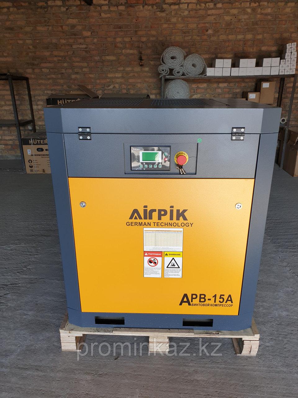 Компрессор APB-15A, -1,5 куб.м, 8 бар, AirPIK