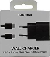 Сетевое зарядное устройство Samsung 25W USB-C для Samsung Galaxy (с кабелем)