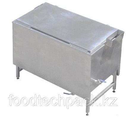 Ванна для заваривания 450 л, с корзиной и температурном датчиком в середине продукта