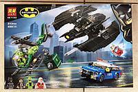 Конструктор Lari 11352 Бэткрыло Бэтмена и ограбление Загадочника