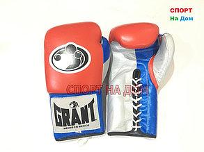 Профессиональные боксерские перчатки Grant кожа (14 OZ), фото 2