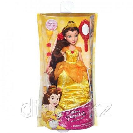Кукла с аксессуарами Hasbro Принцессы с длинными волосами Бэлль B5292