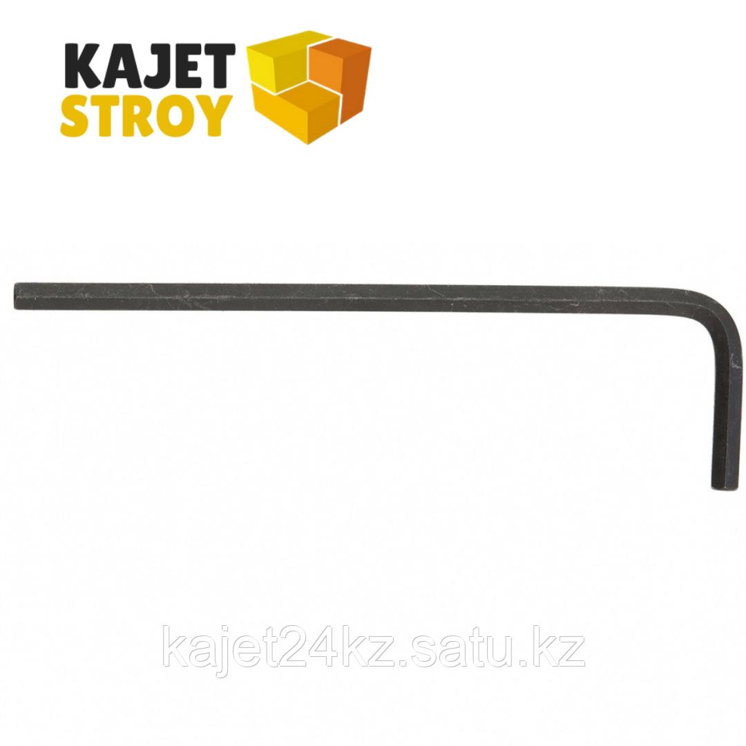 Ключ имбусовый HEX, 4 мм, CrV// Matrix