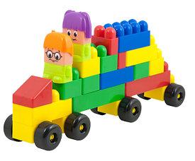Блочные конструкторы для малышей