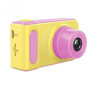 Фотоаппарат цифровой детский «Smart Kids Camera V7» (Розовая)