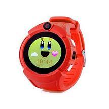 Умные детские часы-телефон с камерой «Smart Baby Watch» Q610 c GPS-приемником (Синий), фото 3
