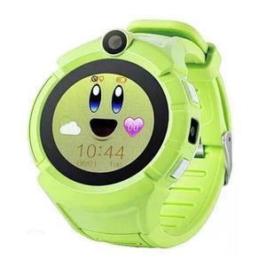 Умные детские часы-телефон с камерой «Smart Baby Watch» Q610 c GPS-приемником (Зеленый)