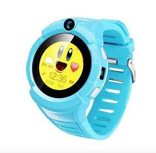 Умные детские часы-телефон с камерой «Smart Baby Watch» Q610 c GPS-приемником (Голубой)