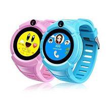 Умные детские часы-телефон с камерой «Smart Baby Watch» Q610 c GPS-приемником (Голубой), фото 3