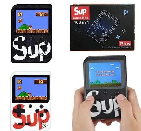 Игровая консоль портативная SUP Game Box 400 in 1 с подключением к TV, фото 2