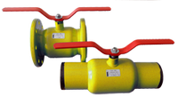 Краны шаровые стальные газовые