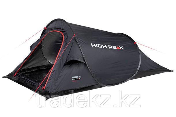 Палатка быстросборная HIGH PEAK CAMPO 2, цвет черный, фото 2